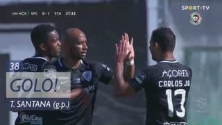 GOLO! Santa Clara, Thiago Santana aos 38', Vitória FC 0-1 Santa Clara