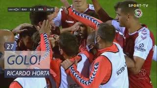 GOLO! SC Braga, Ricardo Horta aos 27', Rio Ave FC 0-2 SC Braga