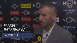 Liga (8ª): Flash Interview Ivo Vieira