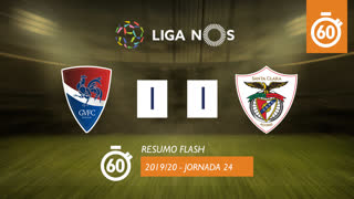 Liga NOS (24ªJ): Resumo Flash Gil Vicente FC 1-1 Santa Clara