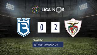 Liga NOS (20ªJ): Resumo Belenenses SAD 0-2 Santa Clara