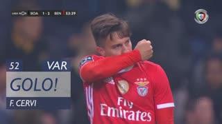 GOLO! SL Benfica, F. Cervi aos 52', Boavista FC 1-2 SL Benfica