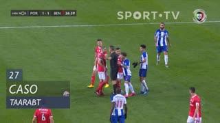 SL Benfica, Caso, Taarabt aos 27'