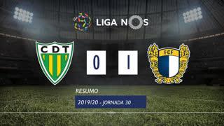 I Liga (30ªJ): Resumo CD Tondela 0-1 FC Famalicão