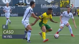 FC P.Ferreira, Caso, W. Fiel aos 8'