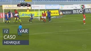 Gil Vicente FC, Caso, Henrique aos 12'