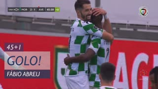GOLO! Moreirense FC, Fábio Abreu aos 45'+1', Moreirense FC 2-1 CD Aves