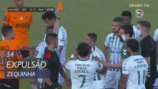 Vitória FC, Expulsão, Zequinha aos 54'