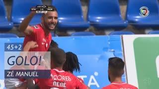 GOLO! Santa Clara, Zé Manuel aos 45'+2', Santa Clara 1-0 Moreirense FC