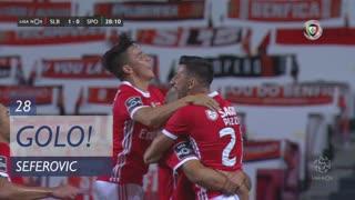 GOLO! SL Benfica, Seferovic aos 28', SL Benfica 1-0 Sporting CP