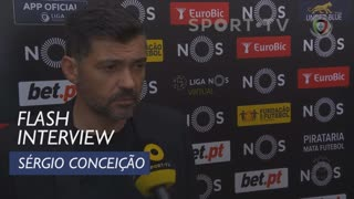 Liga (20ª): Flash Interview Sérgio Conceição