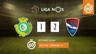 Liga NOS (21ªJ): Resumo Flash Vitória FC 1-2 Gil Vicente FC