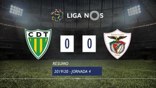 I Liga (4ªJ): Resumo CD Tondela 0-0 Santa Clara
