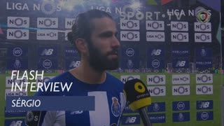 Liga (20ª): Flash Interview Sérgio