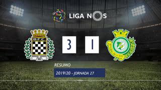Liga NOS (27ªJ): Resumo Boavista FC 3-1 Vitória FC