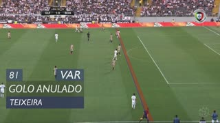 Vitória SC, Golo Anulado, Teixeira aos 81'