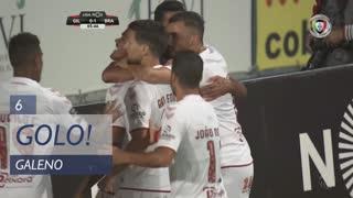 GOLO! SC Braga, Galeno aos 6', Gil Vicente FC 0-1 SC Braga