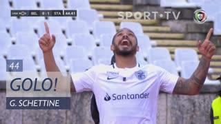 GOLO! Santa Clara, Guilherme Schettine aos 44', Belenenses SAD 0-1 Santa Clara