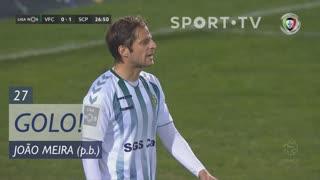 GOLO! Sporting CP, João Meira (p.b.) aos 27', Vitória FC 0-1 Sporting CP