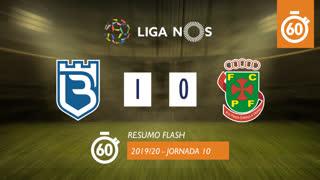 Liga NOS (10ªJ): Resumo Flash Belenenses 1-0 FC P.Ferreira