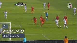 Vitória FC, Jogada, B. Mansilla aos 2'