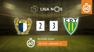 Liga NOS (13ªJ): Resumo Flash FC Famalicão 2-3 CD Tondela