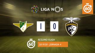Liga NOS (4ªJ): Resumo Flash Moreirense FC 1-0 Portimonense