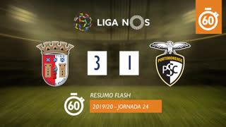 Liga NOS (24ªJ): Resumo Flash SC Braga 3-1 Portimonense