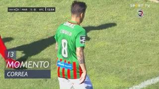 Marítimo M., Jogada, Correa aos 13'