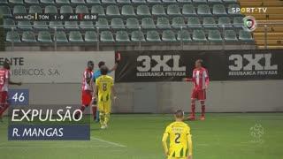 CD Aves, Expulsão, Ricardo Mangas aos 46'