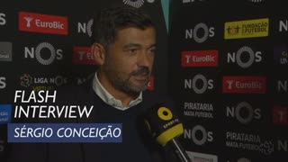Liga (2ª): Flash Interview Sérgio Conceição