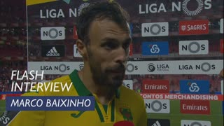Liga (1ª): Flash Interview Marco Baixinho