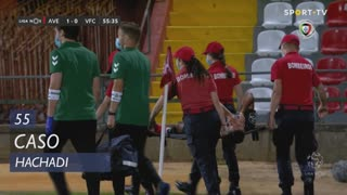 Vitória FC, Caso, Hachadi aos 55'