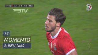SL Benfica, Jogada, Rúben Dias aos 77'