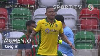 FC P.Ferreira, Jogada, Tanque aos 34'
