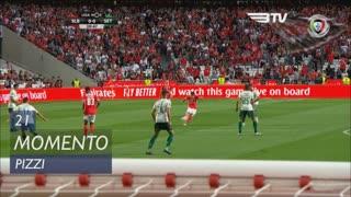 SL Benfica, Jogada, Pizzi aos 21'