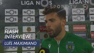 Liga (21ª): Flash Interview Luís Maximiano