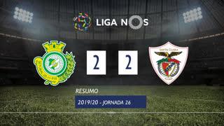 Liga NOS (26ªJ): Resumo Vitória FC 2-2 Santa Clara