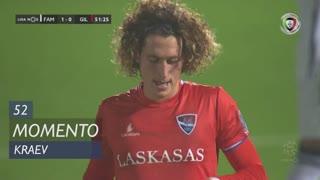 Gil Vicente FC, Jogada, Kraev aos 52'
