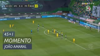 FC P.Ferreira, Jogada, João Amaral aos 45'+1'