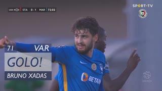 GOLO! Marítimo M., Bruno Xadas aos 71', Santa Clara 0-1 Marítimo M.
