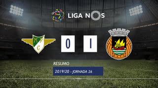 Liga NOS (26ªJ): Resumo Moreirense FC 0-1 Rio Ave FC