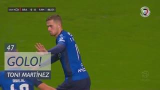 GOLO! FC Famalicão, Toni Martínez aos 47', SC Braga 0-1 FC Famalicão