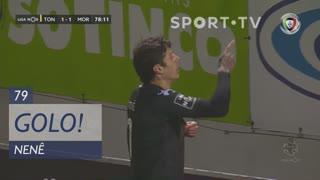 GOLO! Moreirense FC, Nenê aos 79', CD Tondela 1-1 Moreirense FC