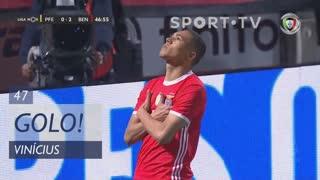 GOLO! SL Benfica, Vinícius aos 47', FC P.Ferreira 0-2 SL Benfica