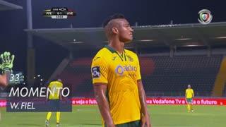 FC P.Ferreira, Jogada, W. Fiel aos 33'