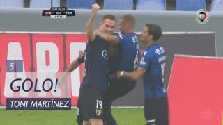 GOLO! FC Famalicão, Toni Martínez aos 5', Santa Clara 0-1 FC Famalicão