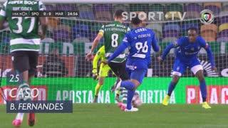 Sporting CP, Caso, Bruno Fernandes aos 25'
