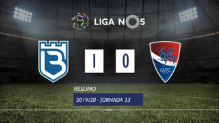 I Liga (33ªJ): Resumo Belenenses 1-0 Gil Vicente FC