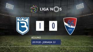 Liga NOS (33ªJ): Resumo Belenenses 1-0 Gil Vicente FC